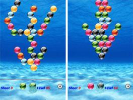 水下泡泡龙for iPhone苹果版5.0(休闲益智) - 截图1