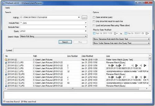 FileSeek 4.4(资源管理器) - 截图1