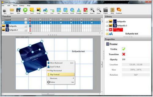 Hippo Animator 4.3.5584(动画设计软件) - 截图1