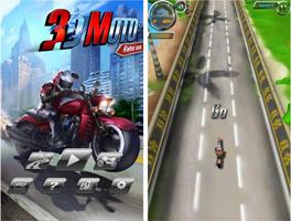 暴力摩托3D for iPhone苹果版4.3.1(摩托竞赛) - 截图1