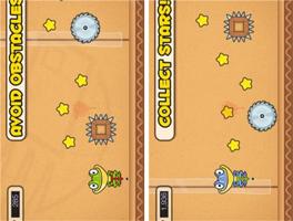 青蛙跳游戏for iPhone苹果版4.3.1(休闲益智) - 截图1