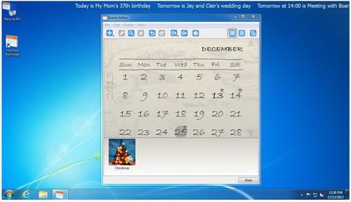Holiline Reminder 3.1.0(日程提醒软件) - 截图1