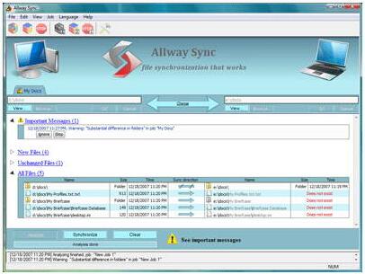 Allway Sync n Go 15.1.9(文件同步工具) - 截图1
