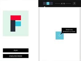 方块浮动for iPhone苹果版5.0(拼图益智) - 截图1