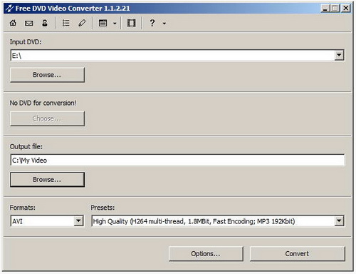 dvdvideosoft Free DVD Video Converter 2.0.25.415(视频转换 - 截图1
