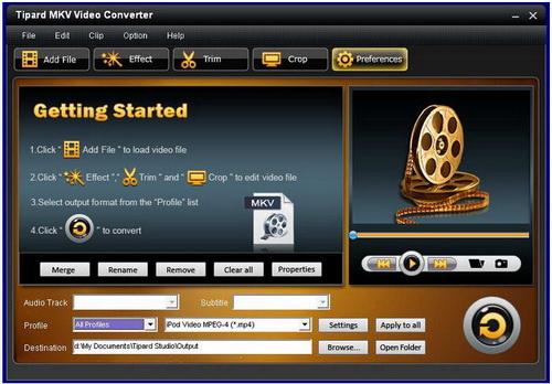Tipard MKV Video Converter 7.1.52(视频格式转换) - 截图1