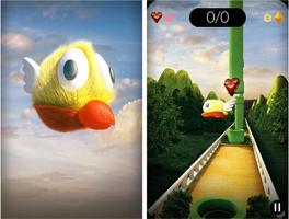 3D像素鸟for iPhone苹果版4.3.1(飞行挑战) - 截图1