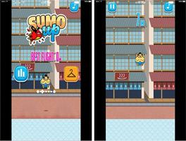 相扑跳跳for iPhone苹果版5.0(休闲跳跃) - 截图1