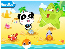 沙滩挖挖乐for iPhone苹果版5.0(沙滩娱乐) - 截图1
