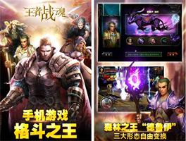 王者战魂for iPhone苹果版5.0(街机格斗) - 截图1