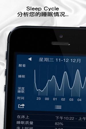 睡眠循环闹钟for iPhone苹果版7.0(生活保健) - 截图1