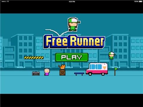 自由的跑酷少年for iPhone苹果版5.1(休闲运动) - 截图1