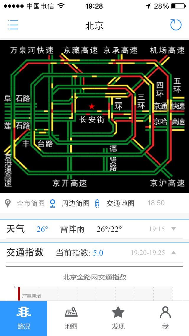 路况交通眼for iPhone苹果版7.0(实时路况) - 截图1