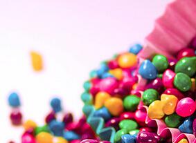 彩色糖果手机唯美壁纸