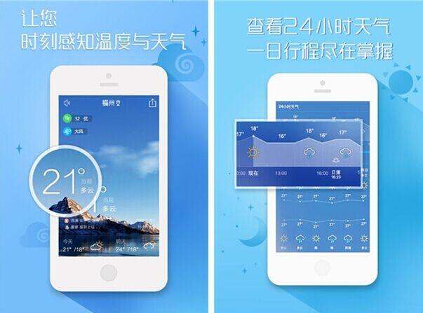 黄历天气for iPhone6.0(天气预报) - 截图1