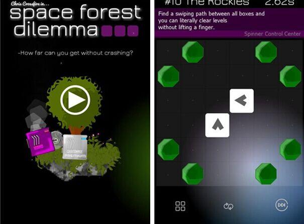 太空森林困境for iPhone5.1(益智冒险) - 截图1