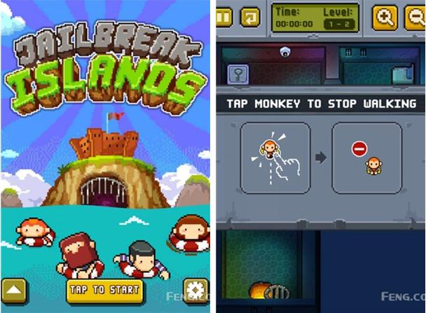 荒岛越狱for iPhone6.0(益智闯关) - 截图1
