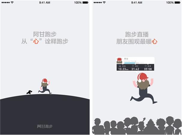 阿甘跑步for iPhone6.0(运动跑步) - 截图1