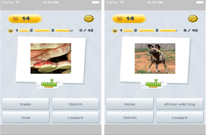 动物大观for iPhone6.0(益智学习) - 截图1