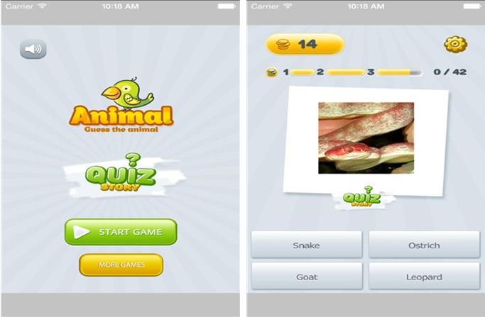可爱动物小百科for iPhone6.0(益智知识) - 截图1