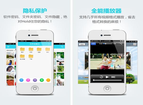 文件全能王for iPhone5.1(效率工具) - 截图1