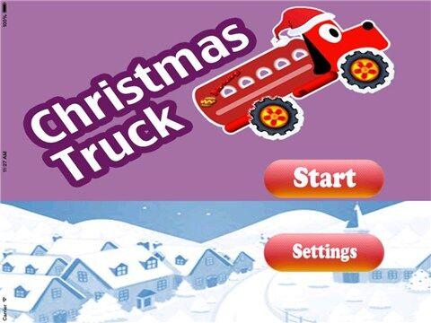 圣诞卡车for iPhone6.0(赛车竞速) - 截图1