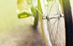 单车唯美意境桌面壁纸