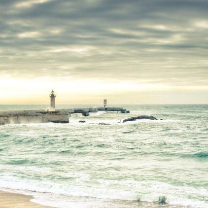 沙滩海岸唯美手机壁纸