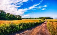 自然田园景色桌面壁纸