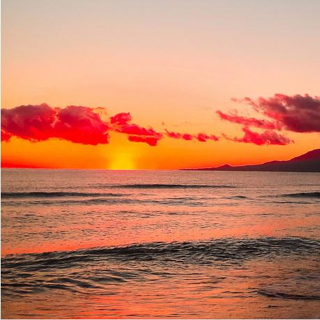 唯美日出日落风景壁纸