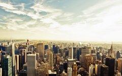 纽约建筑唯美桌面壁纸