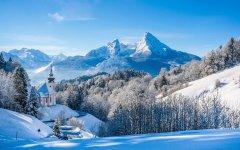 冬季雪景桌面壁纸