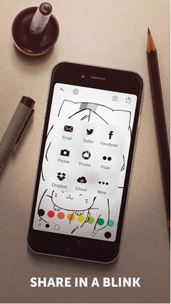 Tayasui memopad V3.9正式版for iPhone(绘画工具) - 截图1