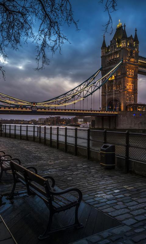 伦敦街景高清手机壁纸图片