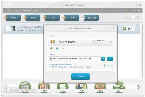 Freemake Video Converter 4.1.9.7正式版(视频转换) - 截图1