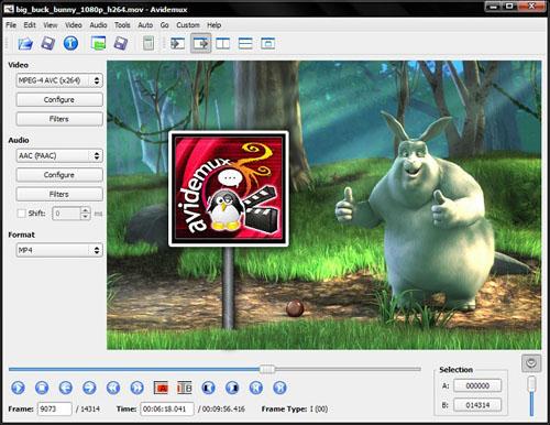 Avidemux 2.6.12 官方版(视频处理) - 截图1