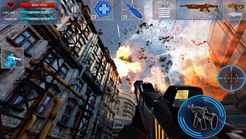 敌军来袭V1.12正式版for iPhone(动作射击) - 截图1