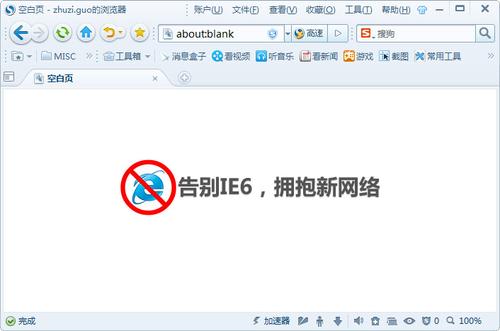 搜狗高速浏览器 6.1.5.20816 正式版(主页浏览) - 截图1