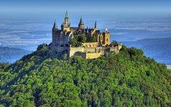 如女孩梦中的神圣城堡 浪漫城堡高清壁纸