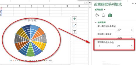 Excel教程,南丁格尔玫瑰图,Excel制作南丁格尔玫瑰图