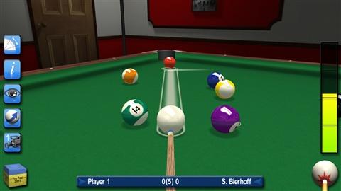 专业桌球2015Pro Pool for iOS - 截图1