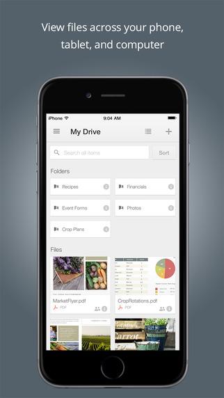 谷歌云储存 for iphone/ipad版 - 截图1