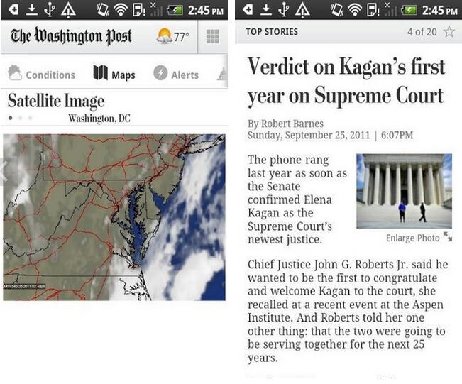 华盛顿邮报v1.3安卓版 - 截图1