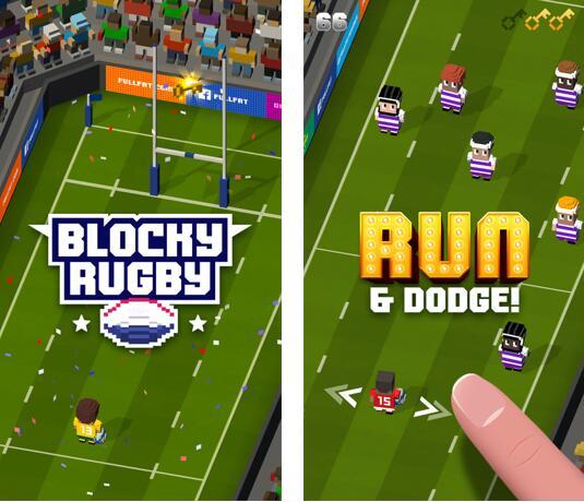 方块橄榄球 v1.1 iphone版游戏 - 截图1