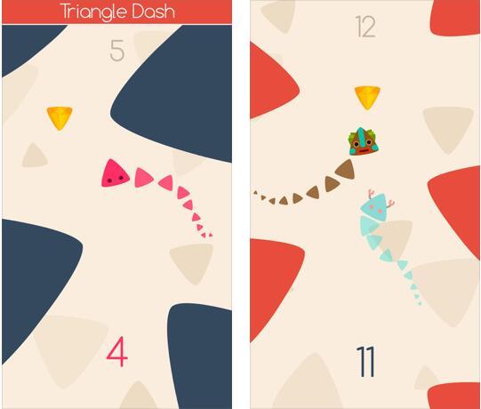三角冲刺v1.1 苹果游戏 - 截图1