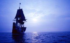 美丽的帆船桌面壁纸