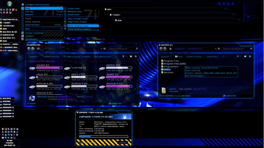 Win7桌面小工具合集(46个)免费版 - 截图1