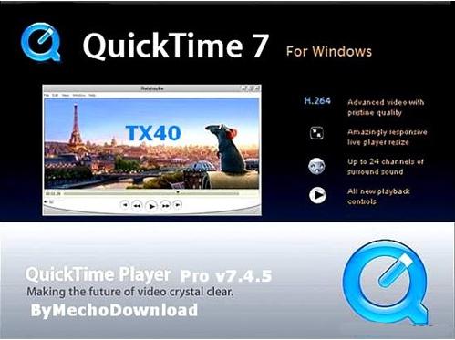 QuickTime官方版 V7.7.9 - 截图1