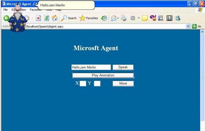Microsoft Agent
