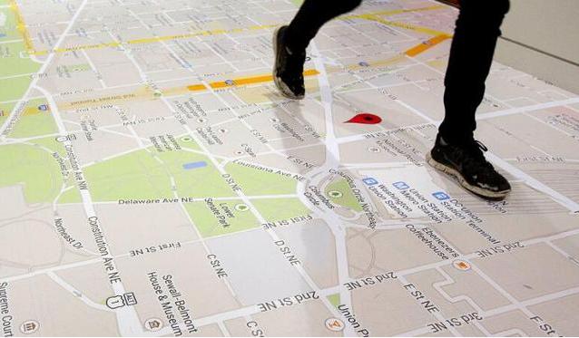 谷歌打造室内地图
